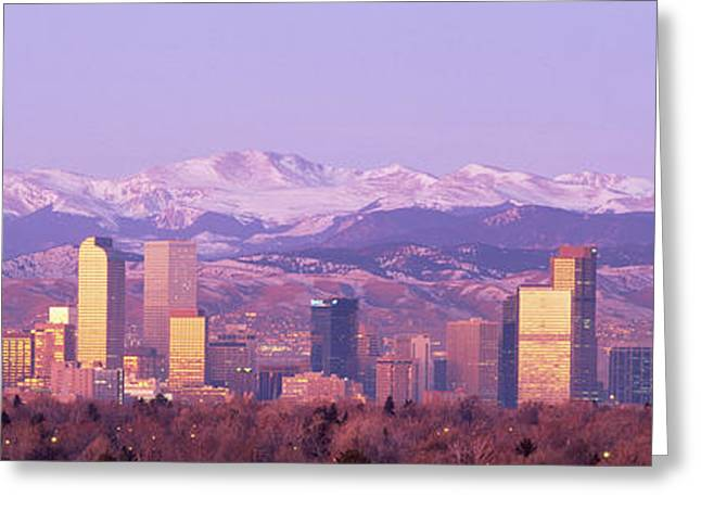 Denver, Colorado, Usa Greeting Card