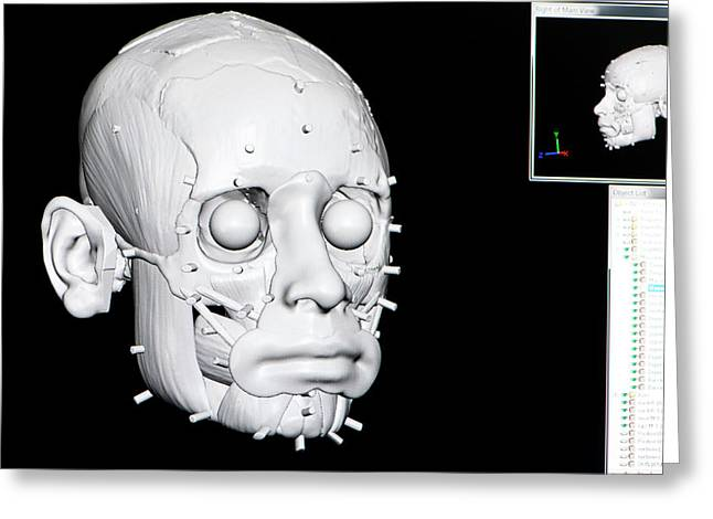 Digital Forensic Facial Reconstruction Greeting Card