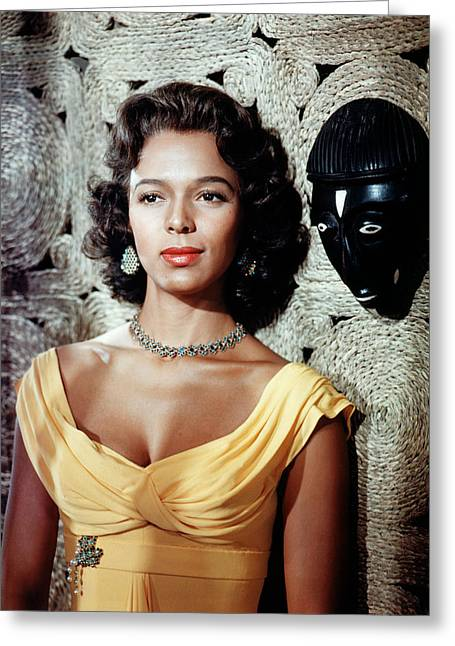 Dorothy Dandridge Greeting Card by Silver Screen