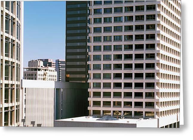 Downtown Buildings Of Phoenix, Maricopa Greeting Card