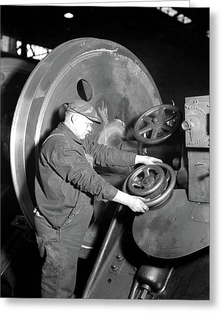 Eddystone, Pennsylvania - Railroad Parts Greeting Card