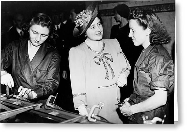 Elizabeth II (1926- ) Greeting Card