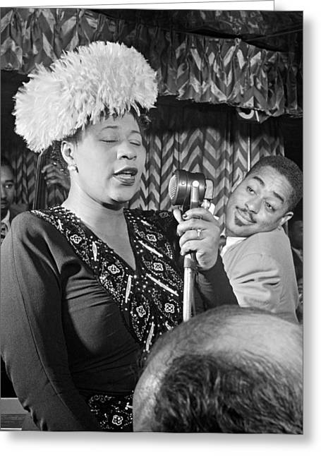 Ella Fitzgerald (1917-1996) Greeting Card by Granger