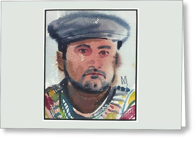 Emilio Greeting Card by Donald Maier