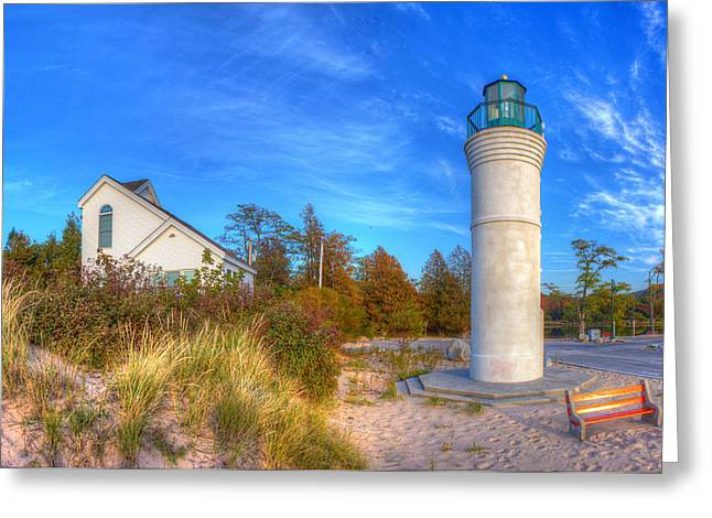 Empire Michigan Lighthouse Greeting Card