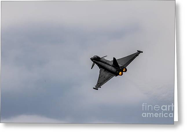 Eurofighter Greeting Card by J Biggadike