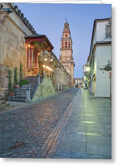 Europe, Spain, Andalucia, Cordoba, La Greeting Card by Rob Tilley