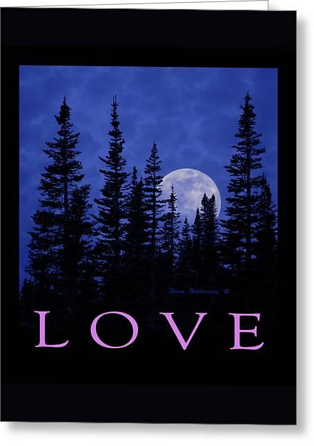 Everlasting Moon Greeting Card