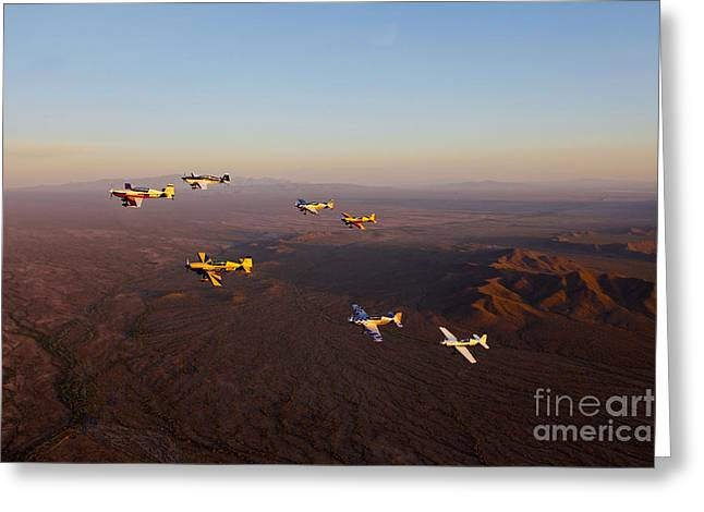 Extra 300 Aerobatic Aircraft Fly Greeting Card