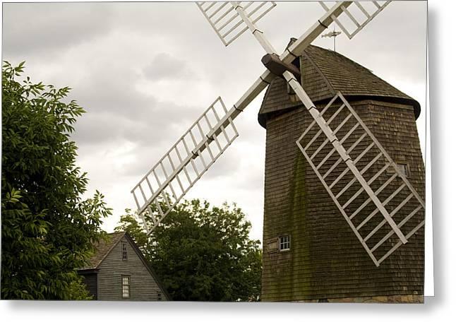 Farris Windmill Greeting Card by Gary Marx