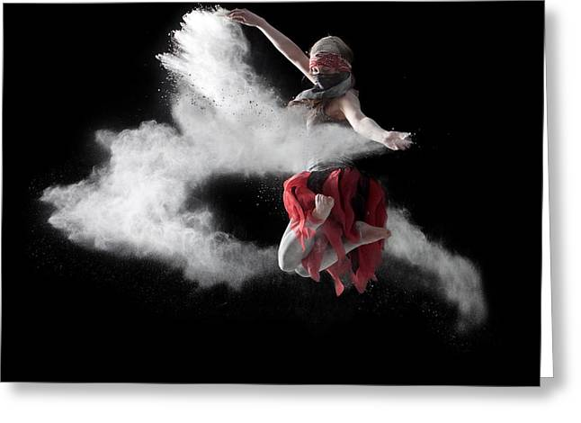 Flour Dancer Series Greeting Card