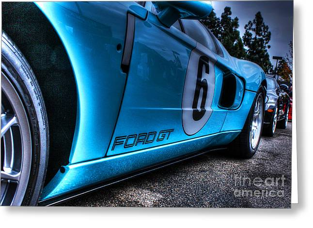 Ford Gt-40 Greeting Card by Tommy Anderson