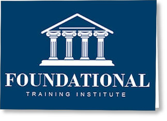 Foundational Training Institute Greeting Card by Barry R Jones Jr