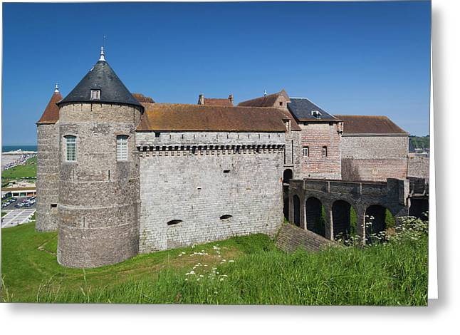 France, Normandy, Dieppe, Dieppe Greeting Card