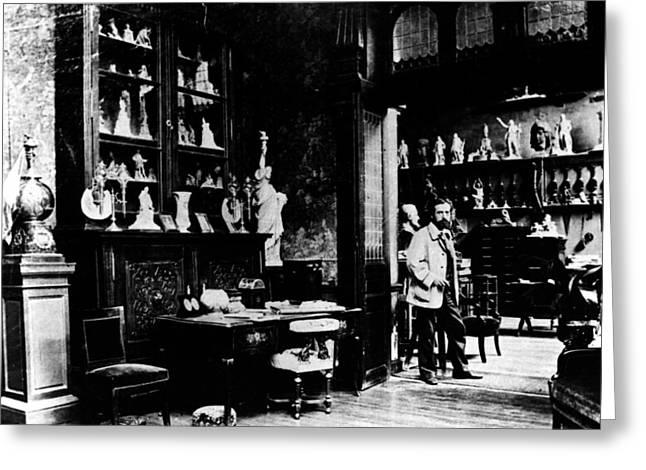 Frederic-auguste Bartholdi (1834-1904) Greeting Card