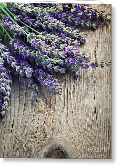 Fresh Lavender Greeting Card
