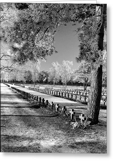 Frost At Cemetery Greeting Card by Dirk Ercken