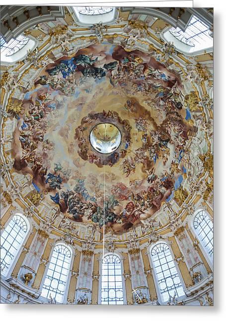 Germany, Bavaria, Ettal, Kloster Ettal Greeting Card by Walter Bibikow