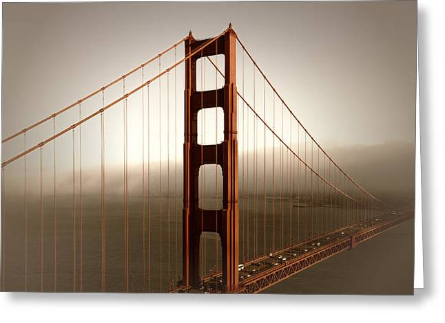 Lovely Golden Gate Bridge Greeting Card