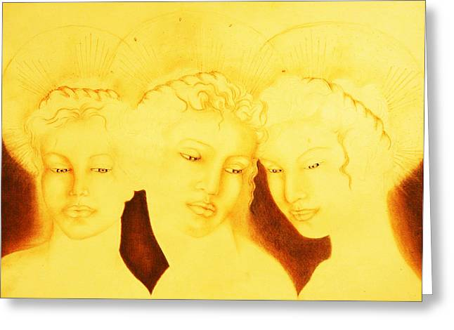 3 Graces Greeting Card