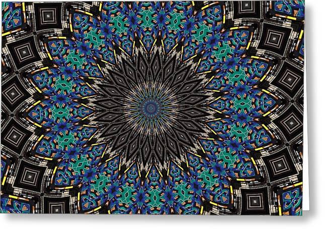 Graffiti - Galaxee Kaleidoscope Greeting Card