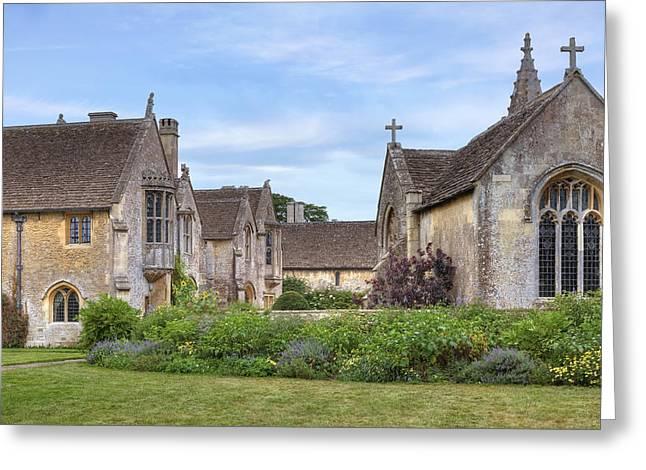 Great Chalfield Manor Greeting Card by Joana Kruse