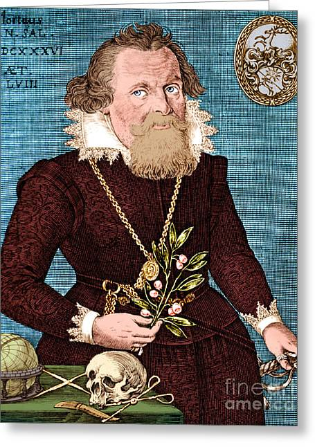 Gregor Horstius  Greeting Card by Science Source