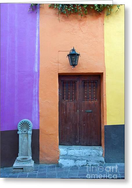 Guanajuato, Mexico Greeting Card by John Shaw