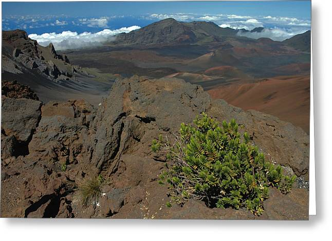 Haleakala Afternoon Greeting Card by Stephen  Vecchiotti