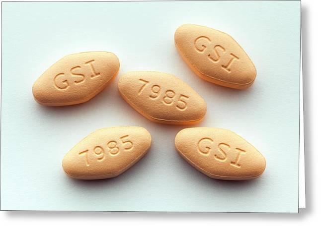 Harvoni Hepatitis C Drug Greeting Card by George Post