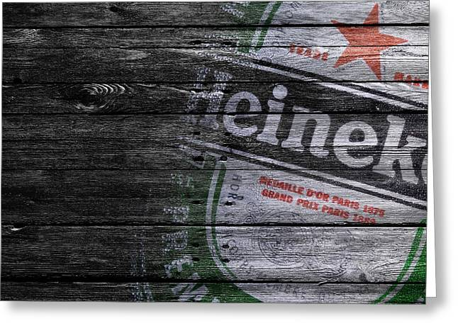 Heineken Greeting Card by Joe Hamilton