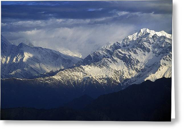 Himalaya Greeting Card by Anonymous