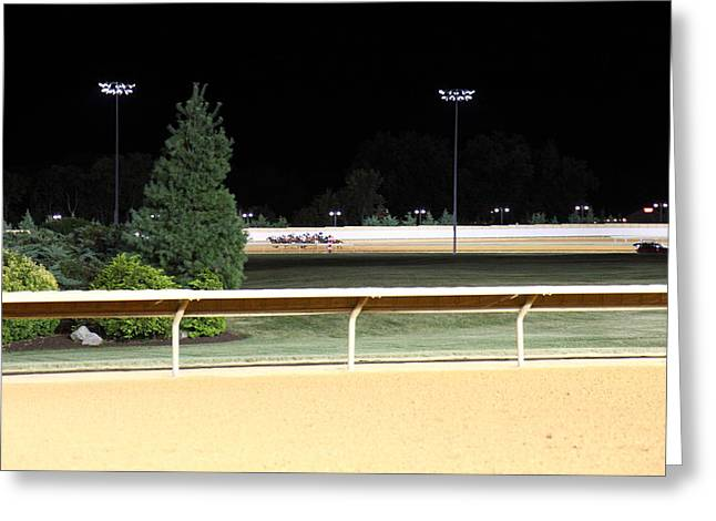 Hollywood Casino At Charles Town Races - 12123 Greeting Card