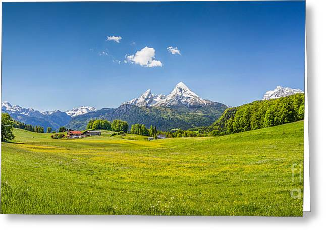 Idyllic Bavaria Greeting Card