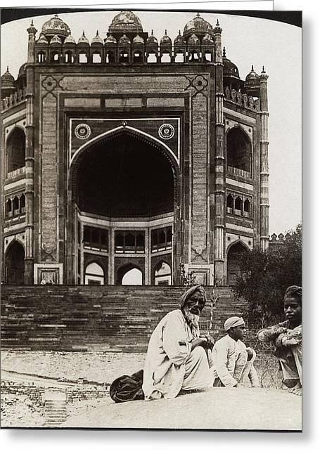 India Fatehpur Sikri, C1907 Greeting Card