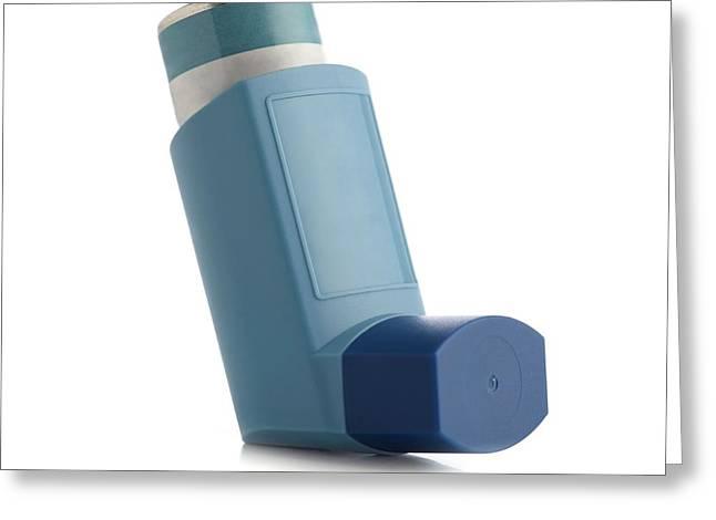Inhaler Greeting Card