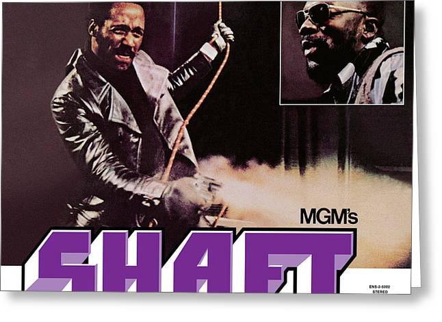 Isaac Hayes -  Shaft Greeting Card