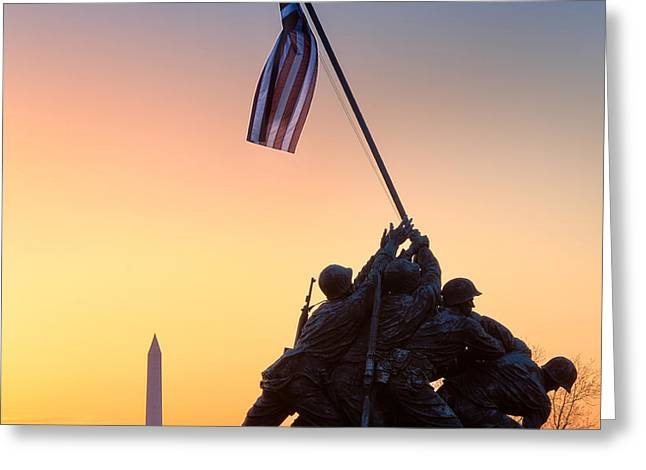 Iwo Jima Greeting Card