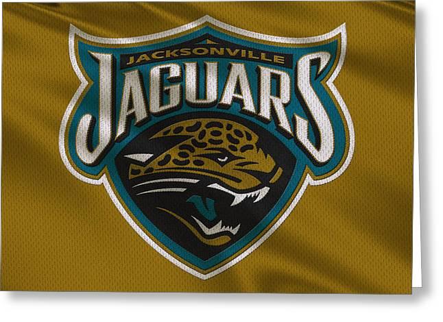 Jacksonville Jaguars Uniform Greeting Card by Joe Hamilton