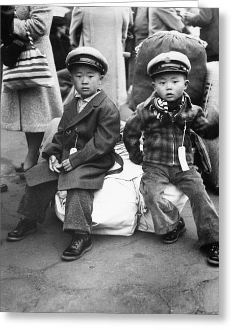 Japanese Internment, 1942 Greeting Card