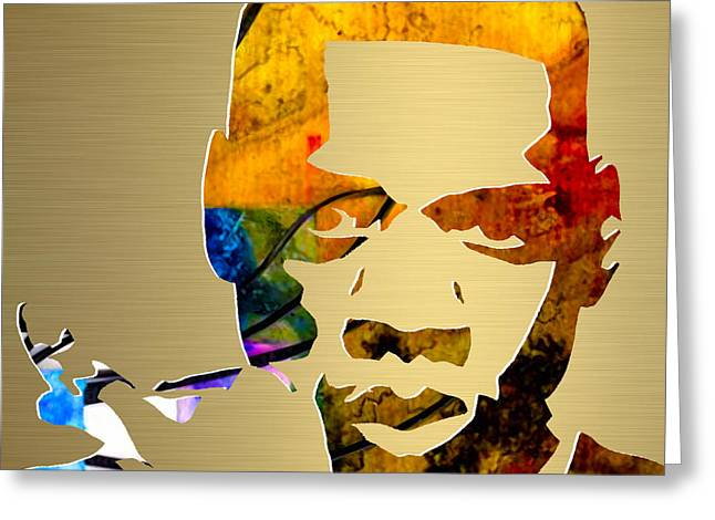 Jay Z Gold Series Greeting Card