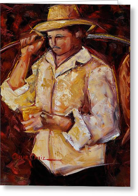 Jibaro De La Costa Greeting Card
