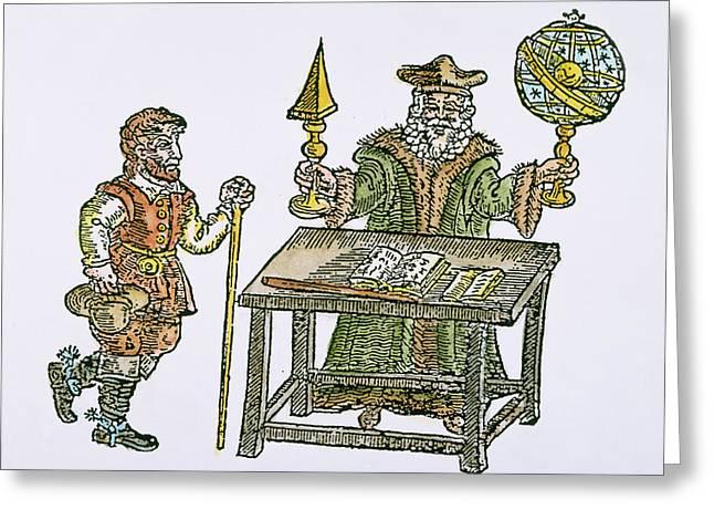 John Dee (1527-1608) Greeting Card by Granger
