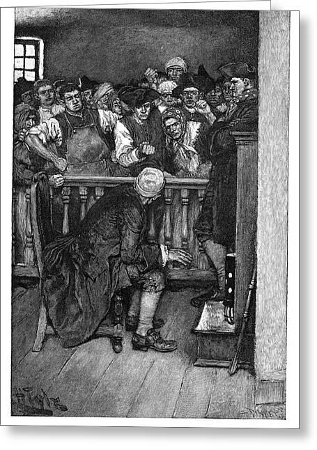 Jonathan Wild (c1682-1725) Greeting Card