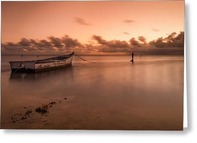 Kaneohe Bay Sunrise Greeting Card