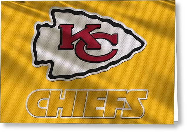 Kansas City Chiefs Uniform Greeting Card