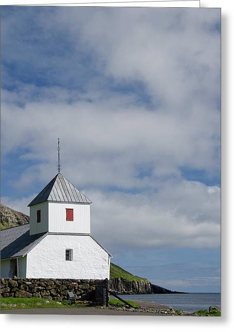 Kingdom Of Denmark, Faroe Islands Greeting Card by Cindy Miller Hopkins