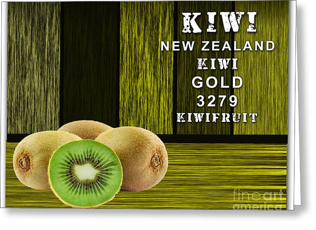 Kiwi Farm Greeting Card