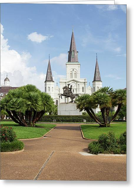La, New Orleans, French Quarter Greeting Card by Jamie and Judy Wild