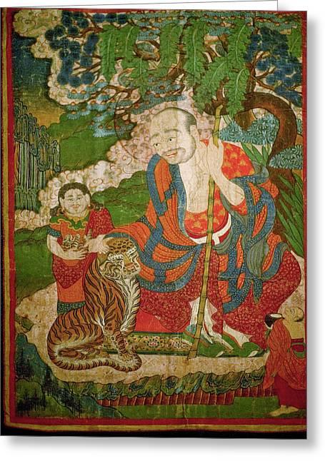 Ladakh, India Pre-17th Century Greeting Card by Jaina Mishra